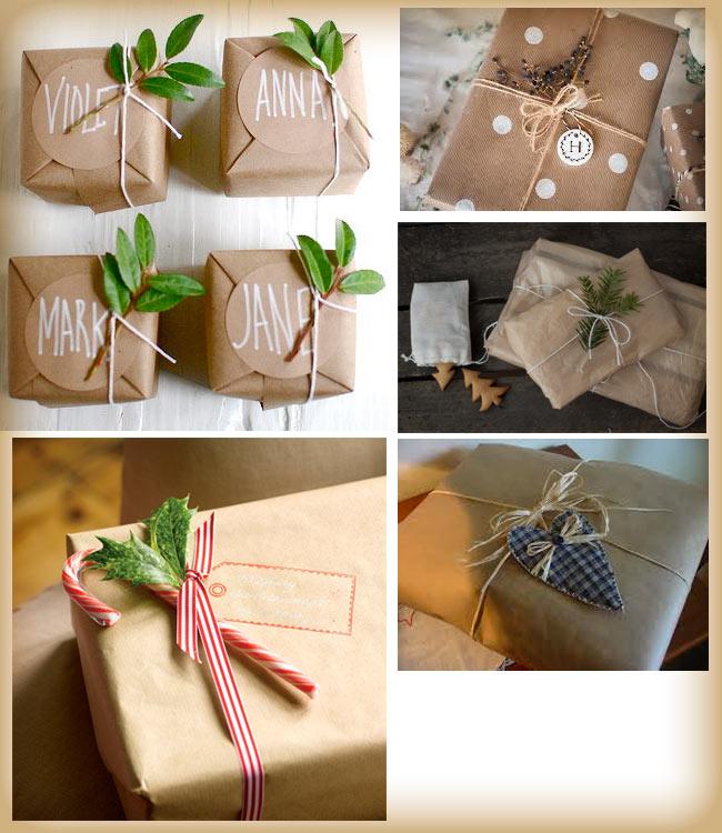 Confezioni Piante Natalizie : Pacchi di natale fai da te spunti e idee per packing