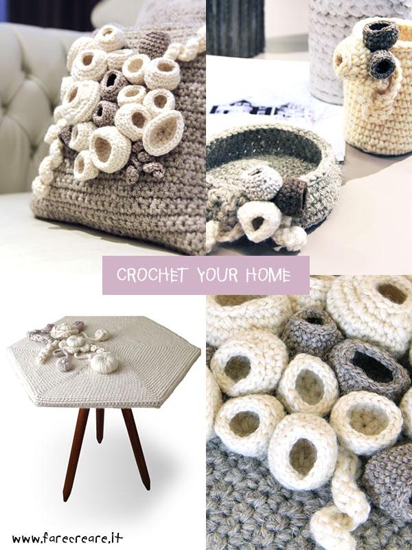 Crochet your home oggetti all uncinetto per una casa a - Oggetti particolari per la casa ...