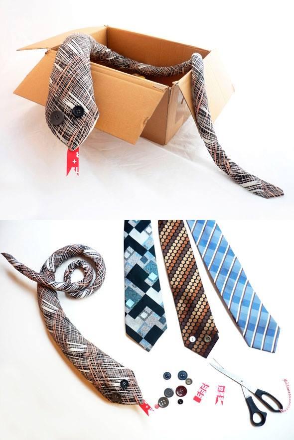 costumi carnevale fai da te cravatta serpente