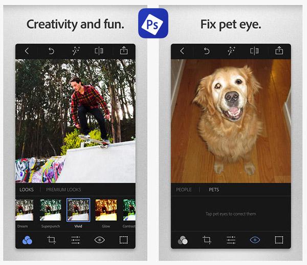 adobe photoshop express applicazione