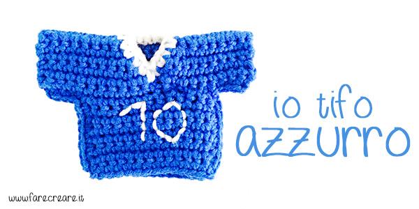 maglietta italia mondiali 2014 uncinetto
