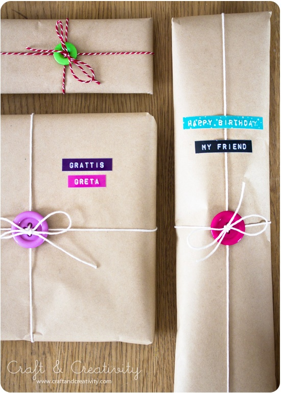 Top Come fare pacchi regalo originali : idee creative. CU61