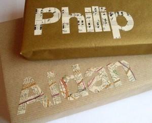 fare pacchi regalo originali nomi