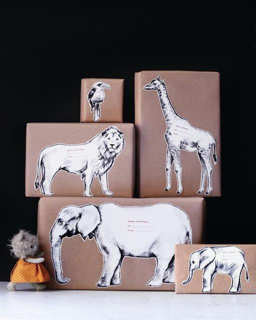 pacchi regalo originali animali
