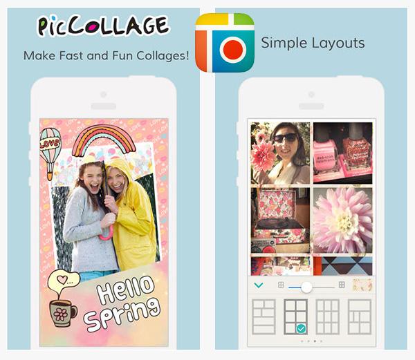 Come utilizzare la pic collage app per smartphone.