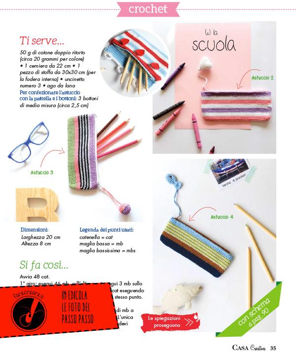 Casa Creativa 20 - rivista crochet