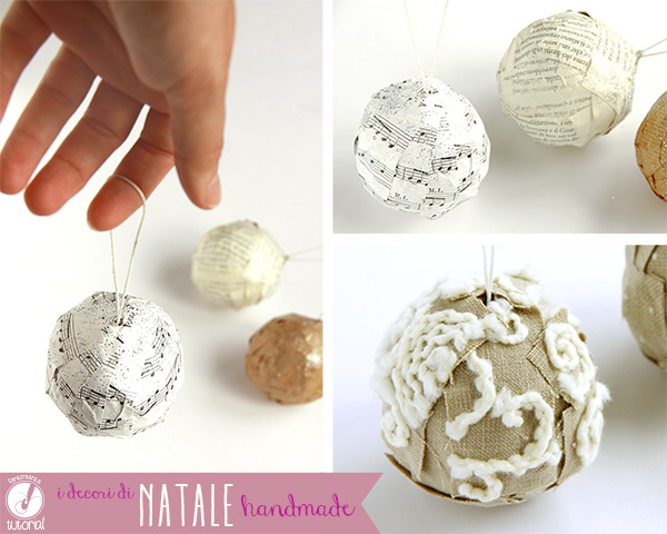 Riciclo creativo decorazioni di natale fai da te - Decorazioni natalizie fatte a mano per bambini ...