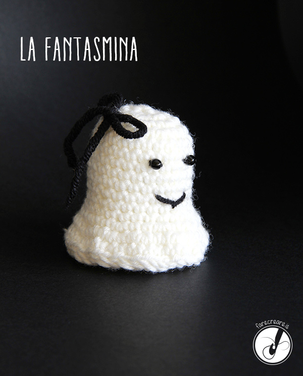 fantasma uncinetto halloween immagine