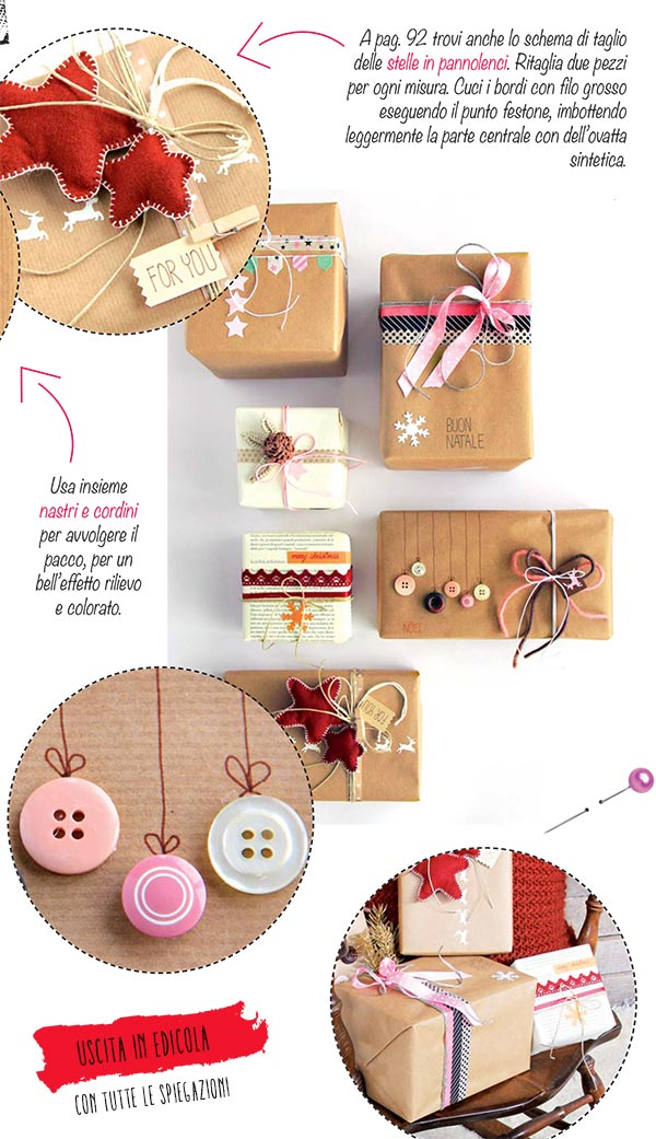 Famoso Wrapping natalizio: come fare pacchi regalo originali. MF97