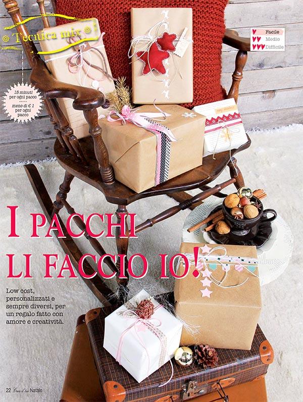 Wrapping natalizio come fare pacchi regalo originali for Regalo oggetti vecchi