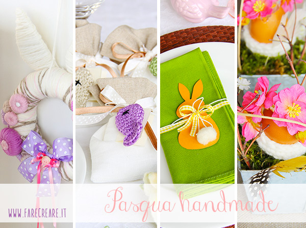 Farecreare.it idee per una Pasqua handmade.