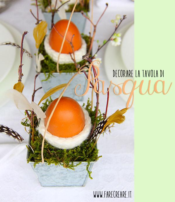 Un idea per decorare la tavola di pasqua - La tavola di melusinda ...