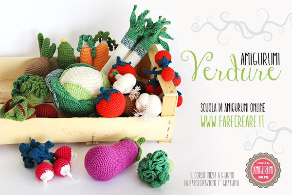 Verdura amigurumi-corso-online