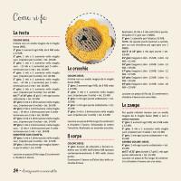 Libro amigurumi di farecreare: pagine interne esempio spiegazioni.