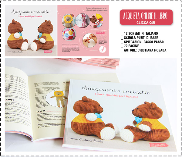 Libro amigurumi in vendita online.
