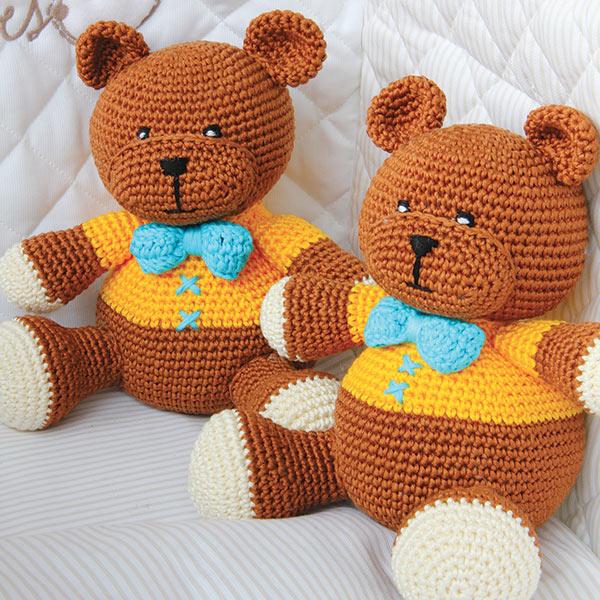 Amigurumi Orsetto Uncinetto : Un orsetto amigurumi.
