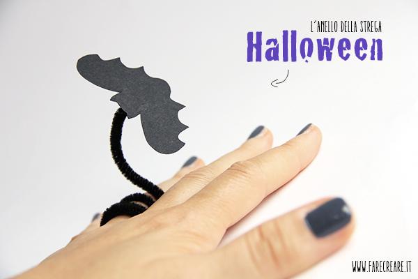L'anello della strega: idea fai da te per Halloween.