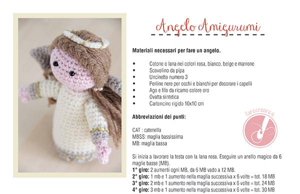 Campanella all'uncinetto amigurumi - Schemi gratuiti Ophelia Italy | 389x600