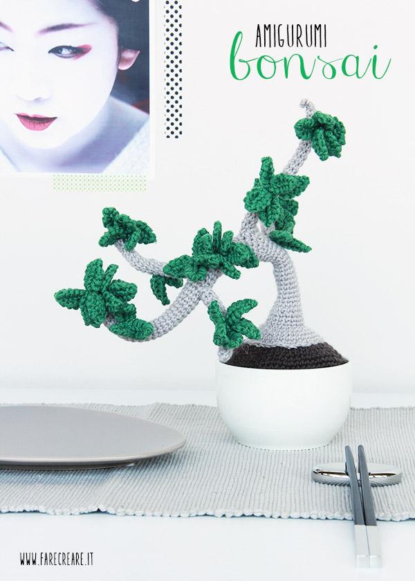 Bonsai amigurumi schema gratis.