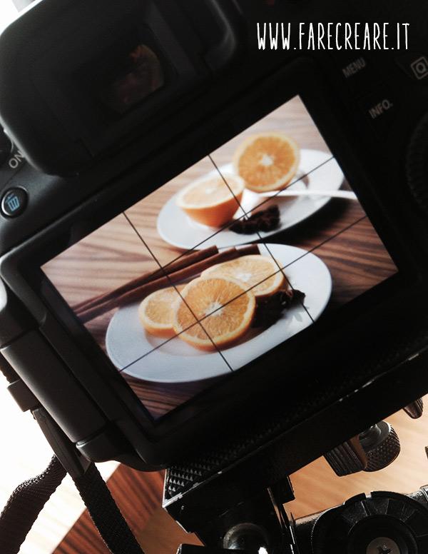 Fare foto belle composizione di frutta.