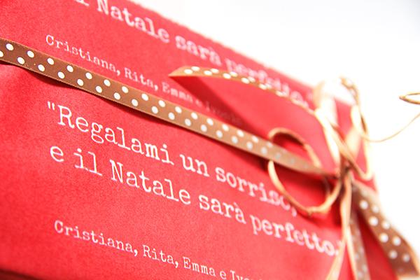 Farecreare wrapping natale personalizzato.