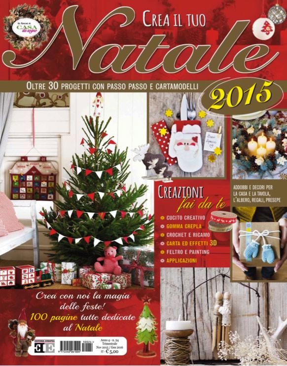Copertina crea il tuo Natale 2015 - www.farecreare.it