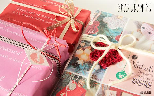 xmas wrapping personalizzato