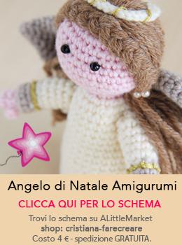 angelo amigurumi schema italiano vendita online