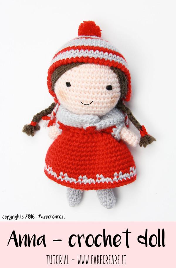 Crochet doll amigurumi immagine