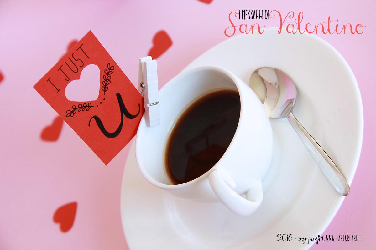 Un messaggio di carta per San Valentino.
