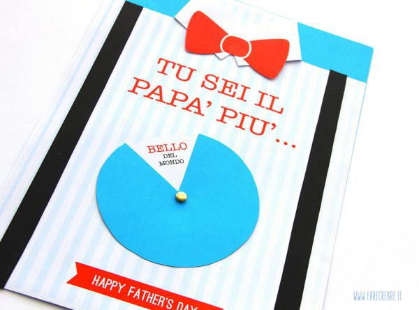 Biglietto festa del papà - passo 4.