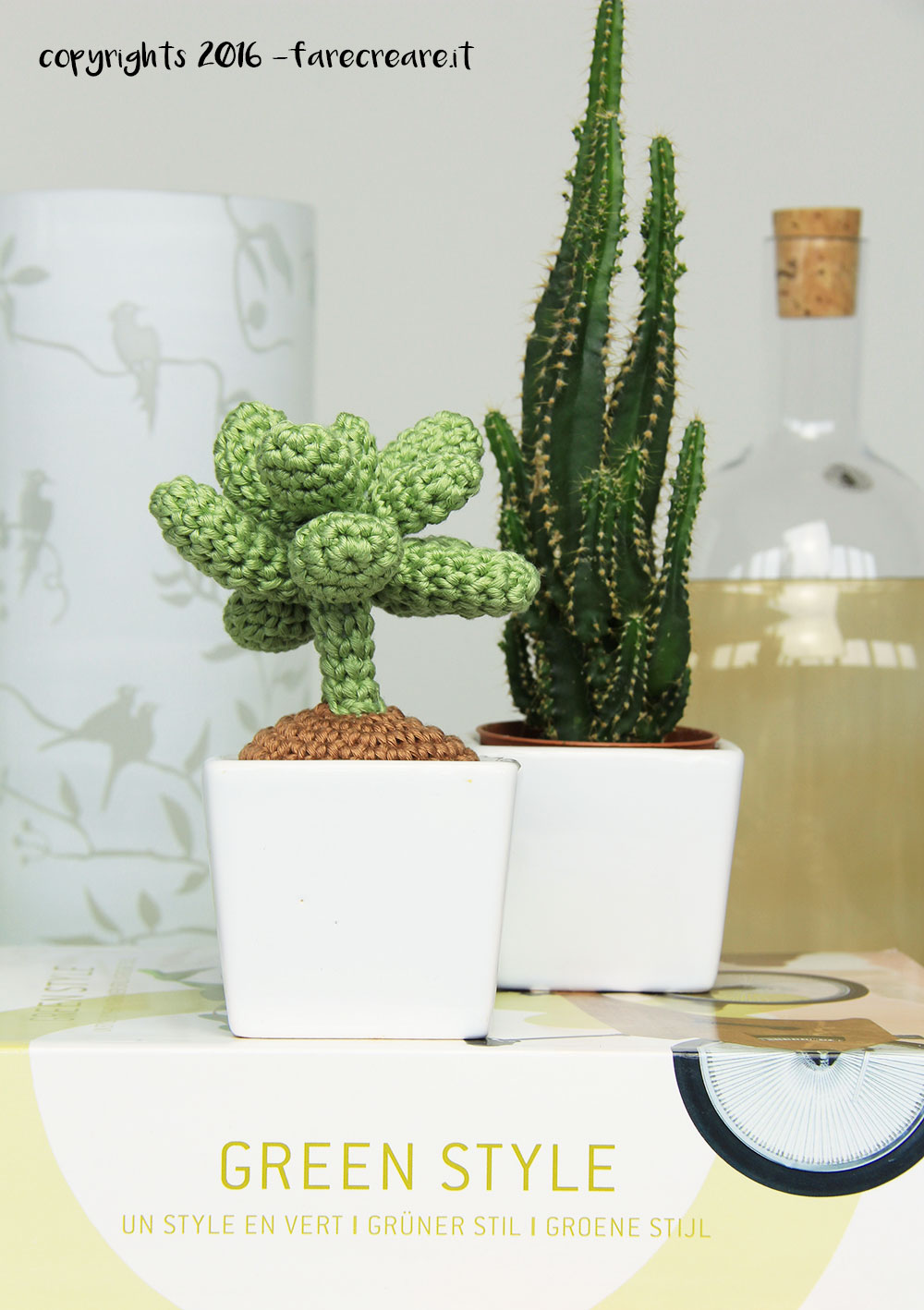 Scarabocchi di creatività // Cactus amigurumi [Free pattern ... | 1418x1000