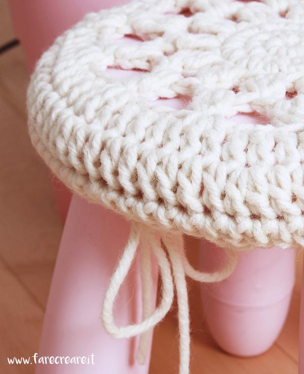 crochet stool ikea farecreare. Black Bedroom Furniture Sets. Home Design Ideas
