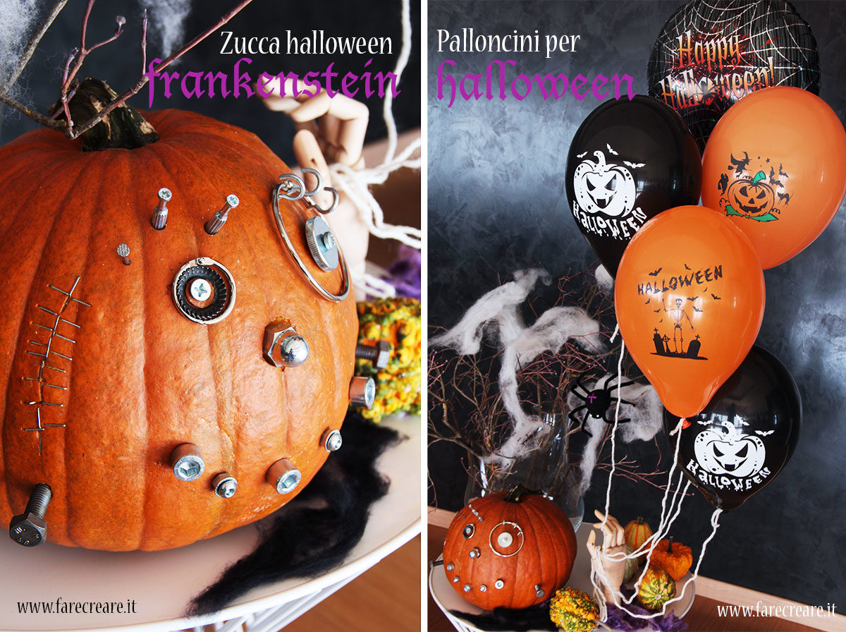 Zucche strane palloncini per halloween e altre idee bizzarre for Idee strane