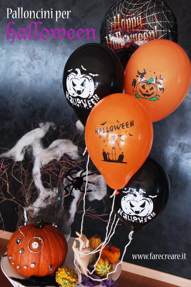 Palloncini decorati per la festa di Halloween - vendita online