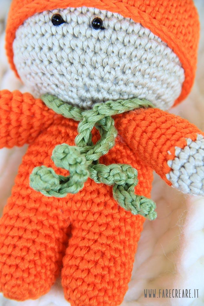Bebè Amigurumi Bomboniera Tutorial Uncinetto - Muñeca Crochet ... | 1050x700
