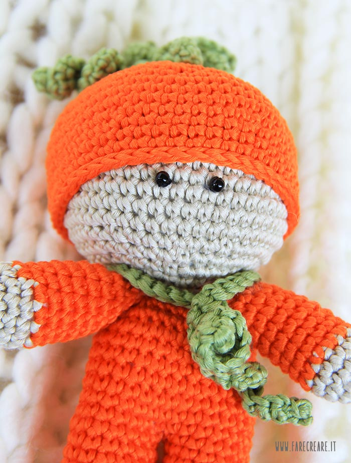 Bimbo Amigurumi Schema In Italiano Farecreare