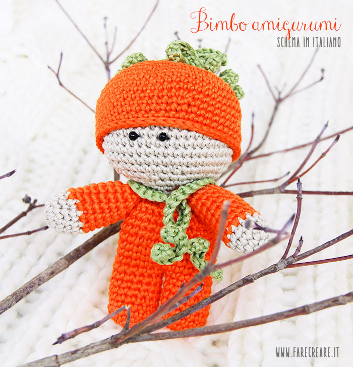 Orsetto piccolo schema amigurumi (2) - magiedifilo.it punto croce ... | 728x700