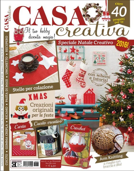 Copertina Casa Creativa di Natale 2016