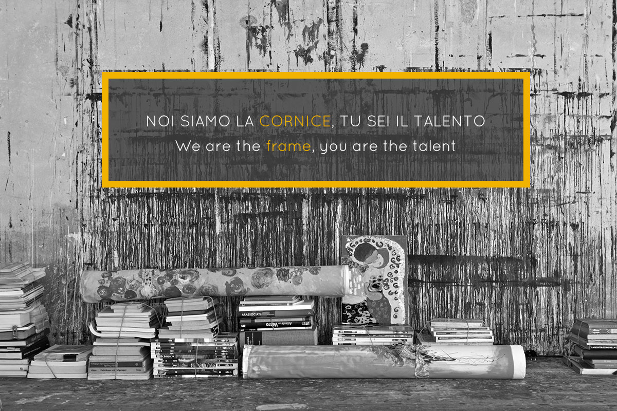 Nartist e Doimo - contest Noi siamo la cornice e tu sei il talento.