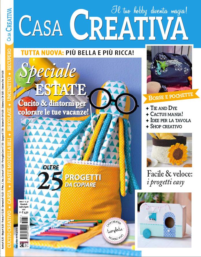 copertina di Casa creativa di Luglio 2017