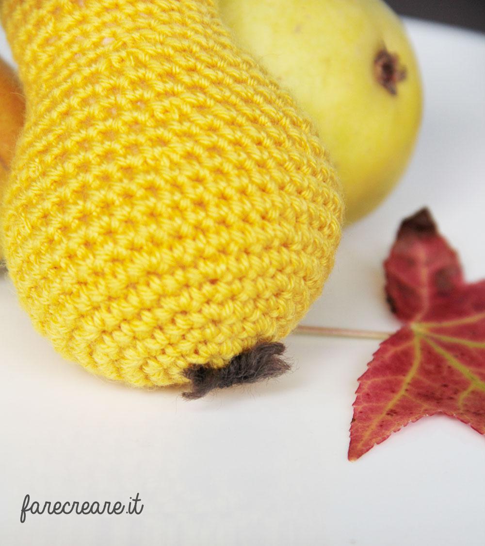 Amigurumi - dettagli per creare una pera.
