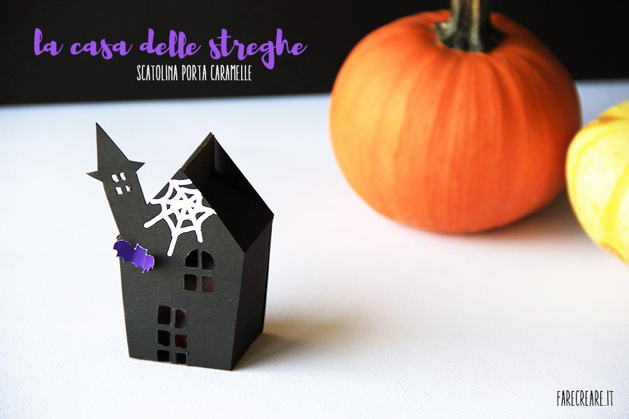 porta caramelle halloween la casa delle streghe e altre