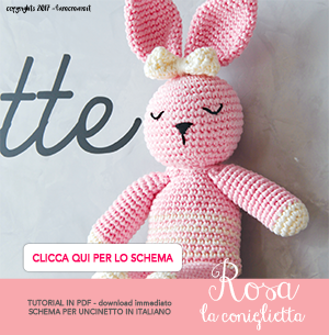Come realizzare un Orsetto Amigurumi all'uncinetto - Schema Gratuito | 305x300
