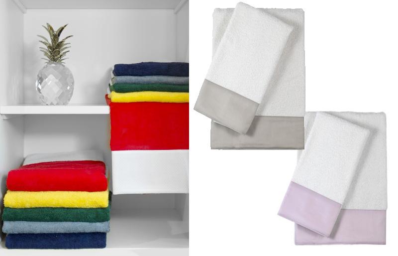 Lime Italy, colori asciugamani Versilia.