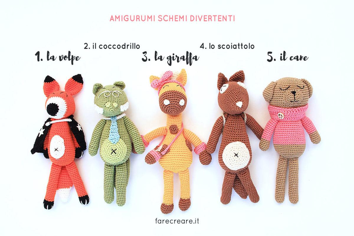 Cagnolino Amigurumi Tutorial - Dog crochet - Perro Crochet ... | 800x1200