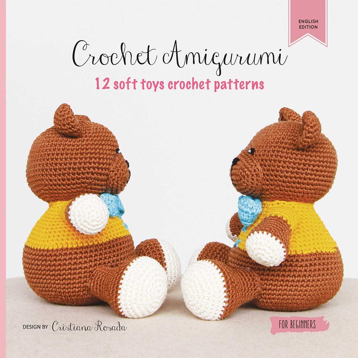 Amigurumi crochet patter English USA book